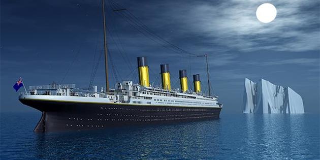 El Titanic 'renace' del fondo del mar