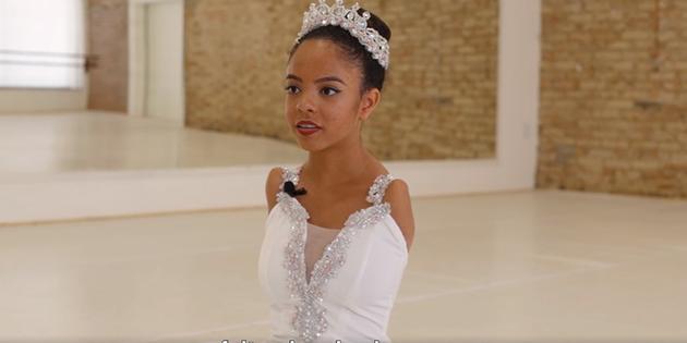 Una bailarina sin brazos