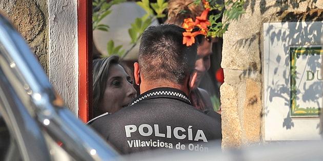La policía acude de urgencia a la casa de Paz Padilla