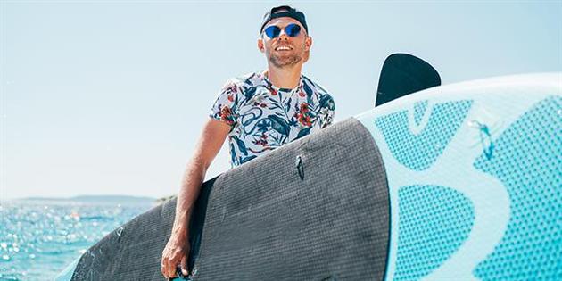 Surf en algas
