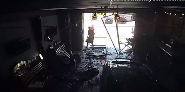 ¡Espectacular accidente!