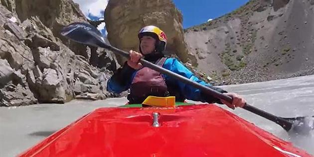 Un viaje en kayak extremo