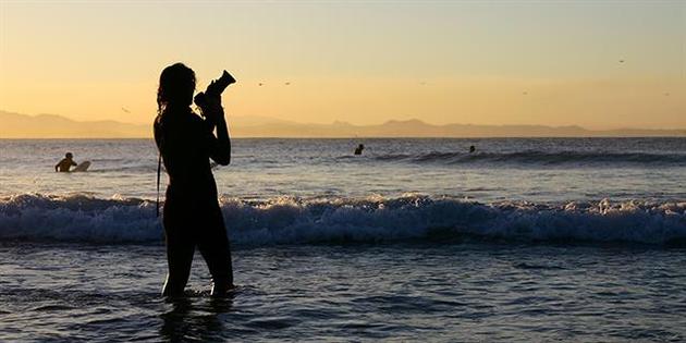 El fotógrafo surfista