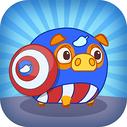 Mango Piggy Piggy Hero (en inglés)