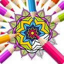 Real Mandala Coloring Book